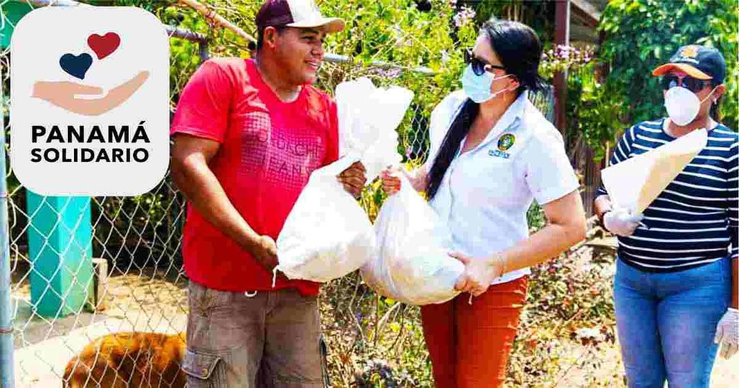 Panamá Solidario - Entrega de bolsas de comida